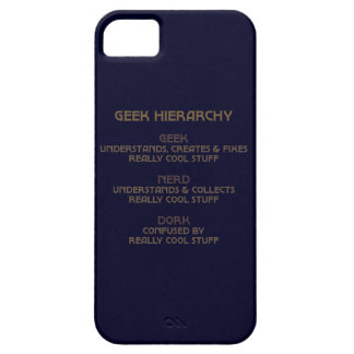 Geek Hierarchy iPhone 5 Cover