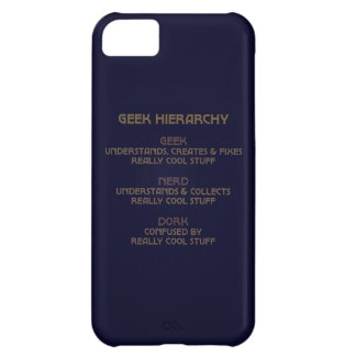 Geek Hierarchy iPhone 5C Cover