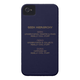 Geek Hierarchy iPhone 4 Case-Mate Case