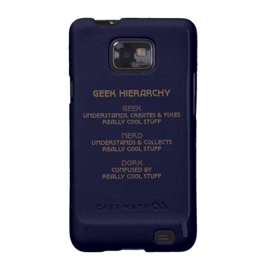 Geek Hierarchy Galaxy SII Case