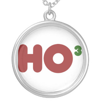 Geek Ho Silver Plated Necklace
