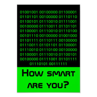 Geek ... how smart are you. poster
