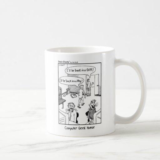 """""""Geek Humor"""" by Jim Kraft Coffee Mug"""