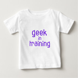 Geek in Training Baby Baby T-Shirt