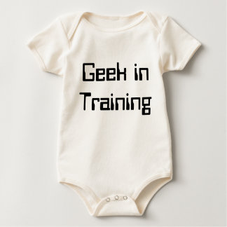 Geek in Training Baby Bodysuit