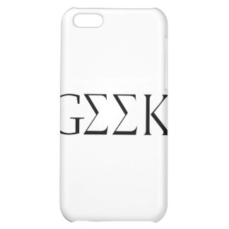 GEEK CASE FOR iPhone 5C