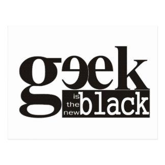 Geek is the new Black Postcard