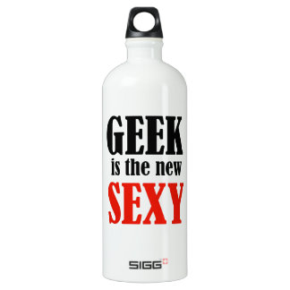 Geek Is The New Sexy Water Bottle