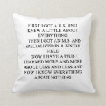 geek joke pillow