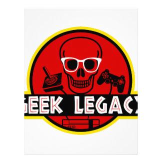 GEEK LEGACY LETTERHEAD