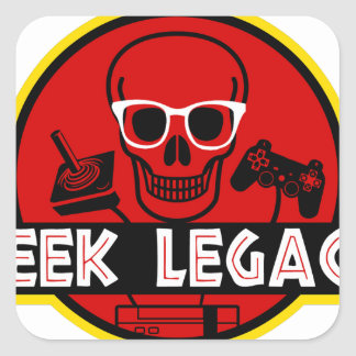 GEEK LEGACY SQUARE STICKER