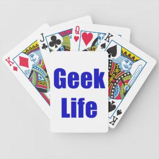 Geek Life Bicycle Poker Deck