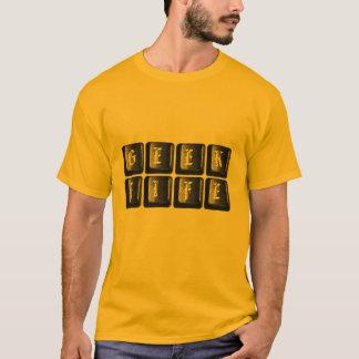Geek Life Computer Keyboard Funny Nerdy T-Shirt