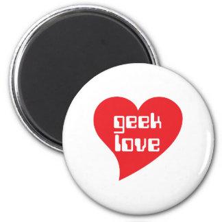 Geek Love by Genepool Design Refrigerator Magnets