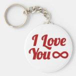 Geek Love Key Chains
