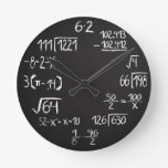 Geek Math Wall Clock
