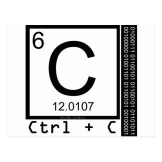 Geek Me! Carbon Copy Postcard