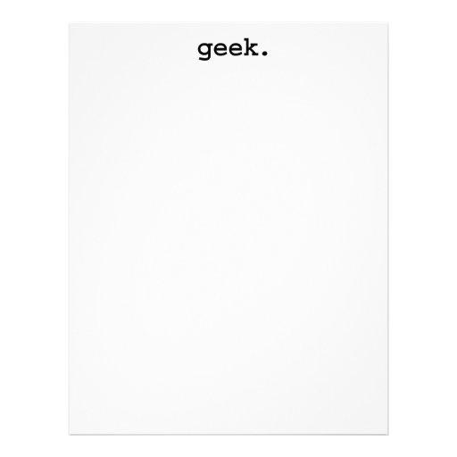 geek. membrete personalizado