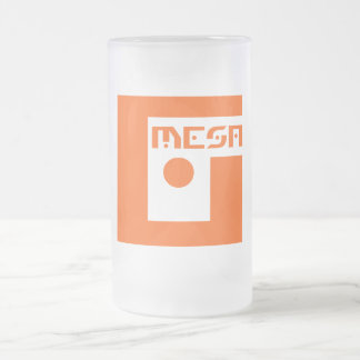 Geek Mesa Logo Frosted Beer Mug