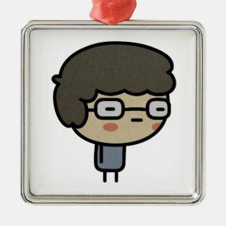 Geek Metal Ornament