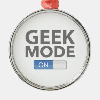 Geek Mode On Christmas Tree Ornament