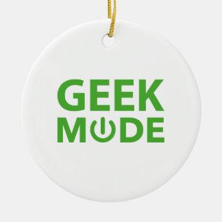 Geek Mode Christmas Ornaments