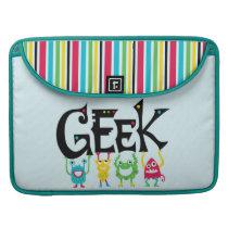 Geek Monsters Sleeve For MacBook Pro