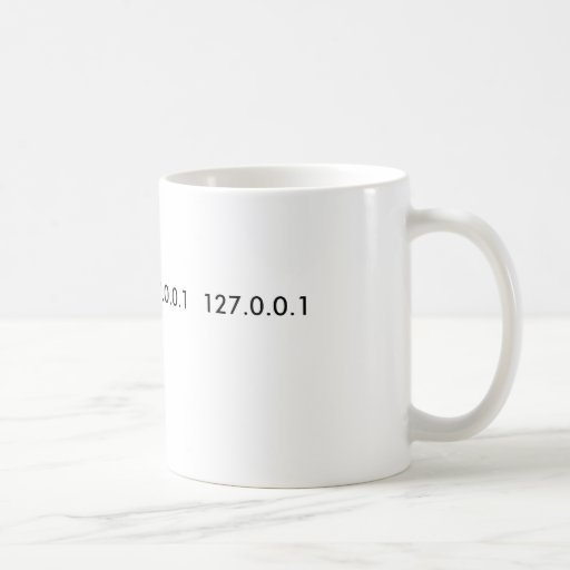 GEEK MUG 127.0.0.1