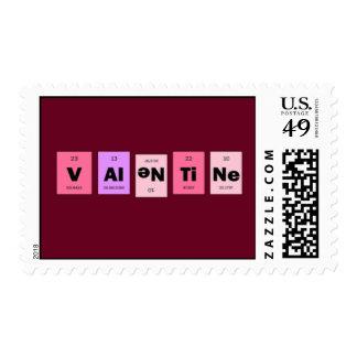 Geek Nerd Science Be My Valentine Postage