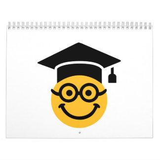 Geek nerd smiley calendar