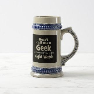 Geek Night Watch wf Mug
