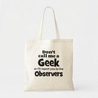 Geek Observers bf Bag