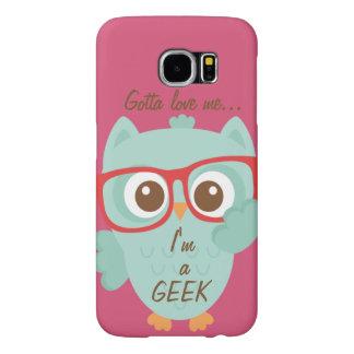 """""""GEEK OWL"""" SAMSUNG GALAXY S6 CASE"""