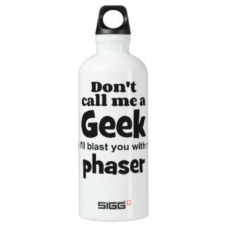 Geek phaser bf water bottle