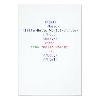 Geek php Greeting Card