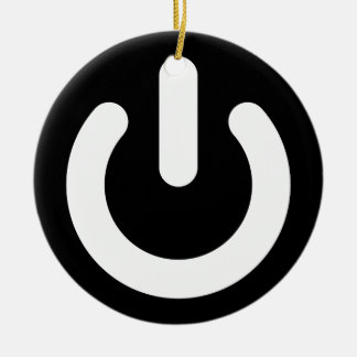 Geek Power Ideology Christmas Tree Ornaments