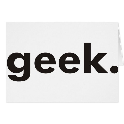 Geek Products & Designs! Greeting Card