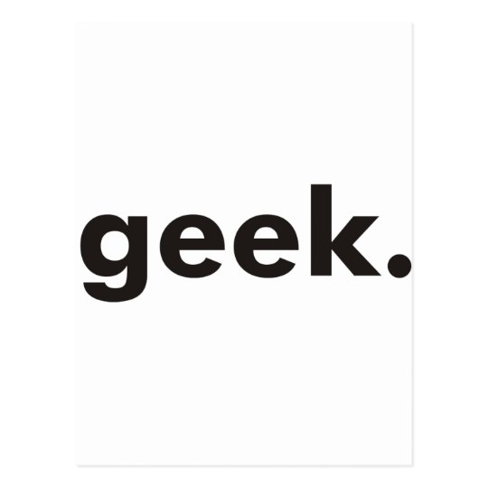 Geek Products & Designs! Postcard