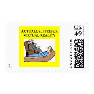 geek psychology postage stamp