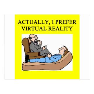 geek psychology postcard