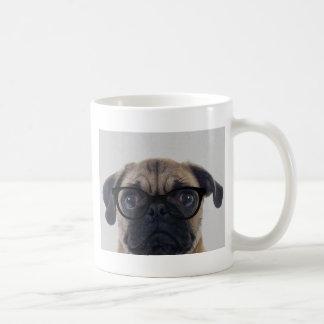 Geek Pug Coffee Mug