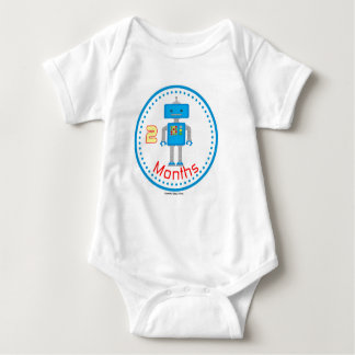 Geek robot Baby Creeper for Nerd baby