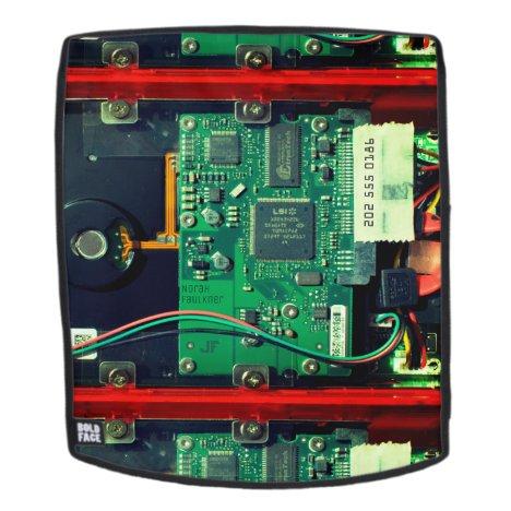 Geek robotic printed circuit board electronic Cool Backpack