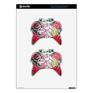 Geek Salad from original painting art Xbox 360 Controller Skins