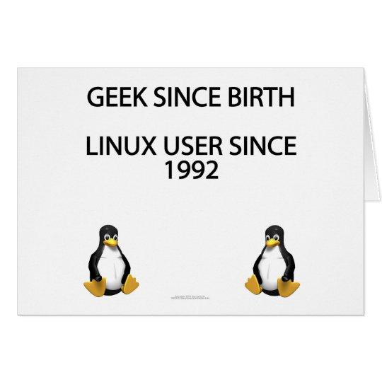 Geek since birth. Linux user since 1992. Card