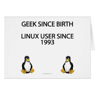 Geek since birth. Linux user since 1993. Card