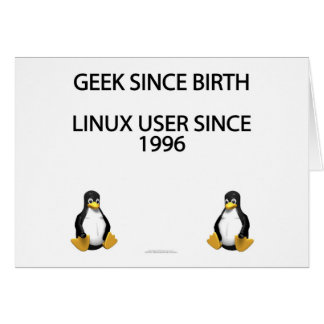 Geek since birth. Linux user since 1996. Card
