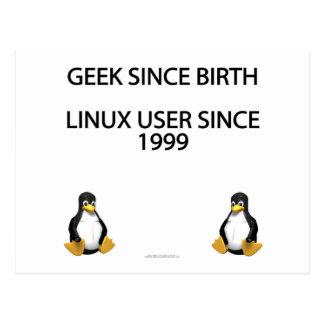 Geek since birth. Linux user since 1999. Postcard