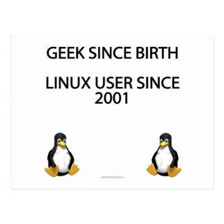 Geek since birth. Linux user since 2001. Postcard