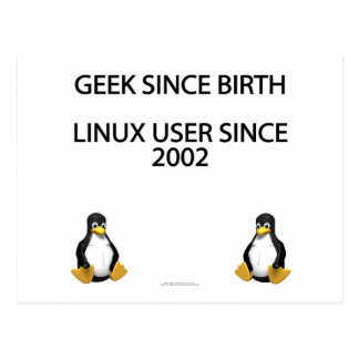Geek since birth. Linux user since 2002. Postcard